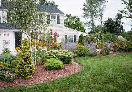 Picture of white New England colonial home where the New England Hold Me Tight Workshops and New England Hold Me Tight Private Couples Retreats occur.