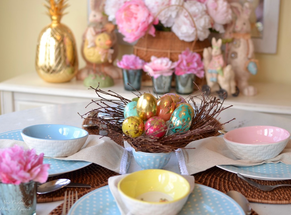 7209fc8b8b00 An Easter Table | New England Home and Garden