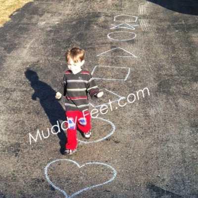 Outside Chalk Fun!