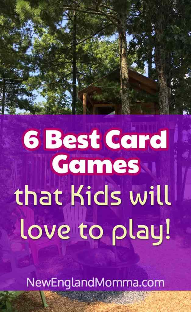 Pack light when traveling. Bring a pack of cards and play one of these super fun games that kids love to play!