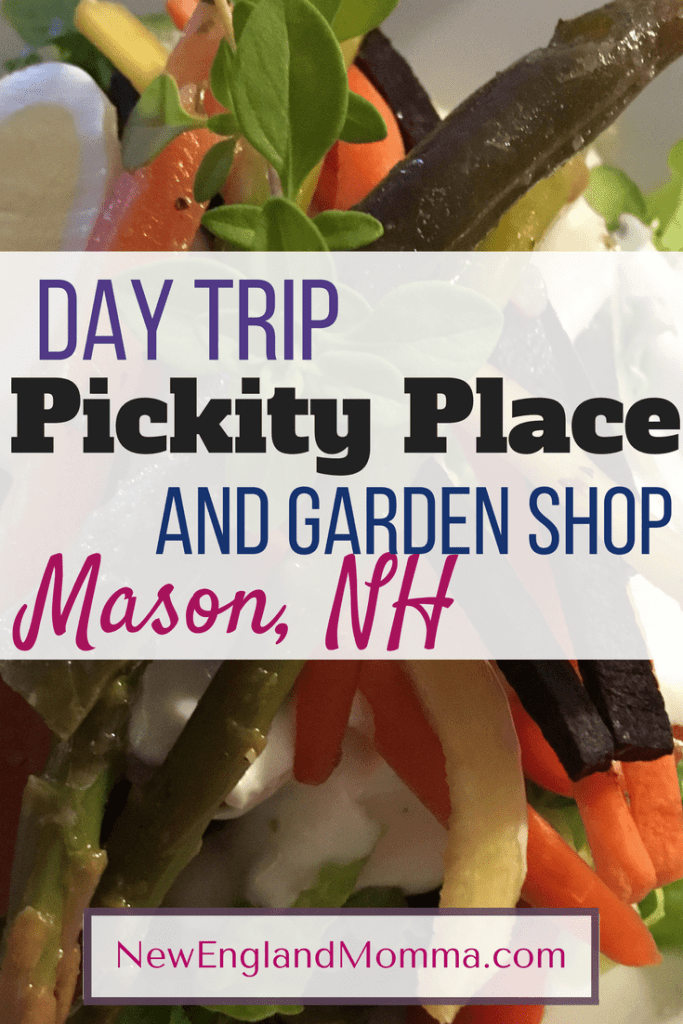 A unique lunch spot with seasonally fresh menus which change once a month is featured here at Pickity Place in Mason, NH. Call for reservations and enjoy an afternoon of great food in a pleasant atmosphere.