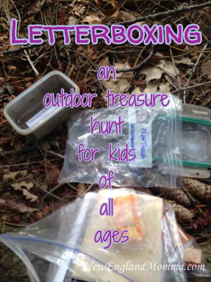Letterboxing - an outdoor treasure hunt for kids of all ages. Find out what you need to get started on this fun activity!