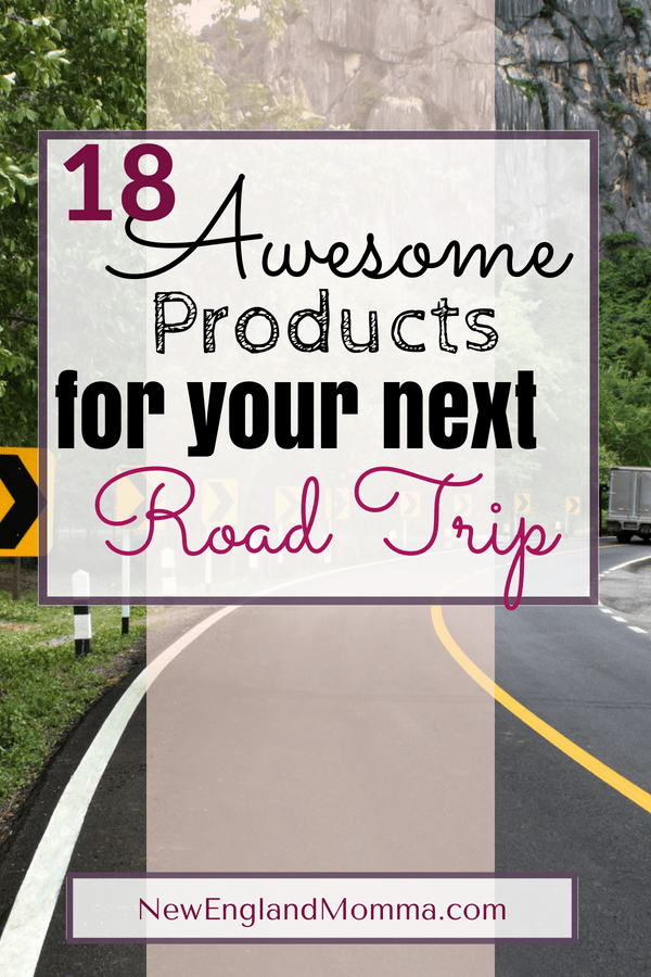 Road Trips are fun but kids want comfort and to be entertained. Parents want their car kept clean, electronics charged, everything within reach and happy kids. Here are 18 awesome products you will want for your next road trip!