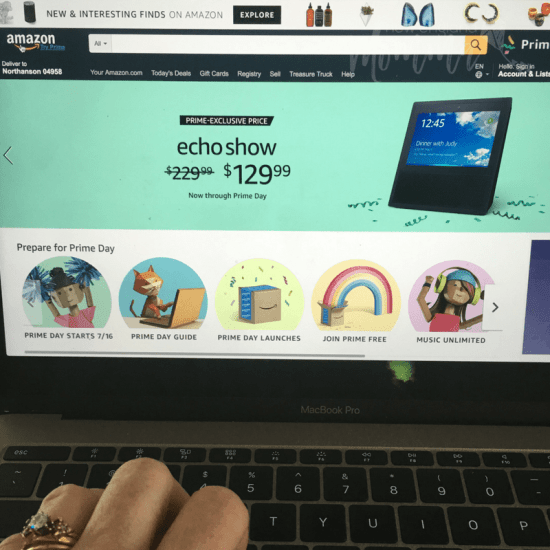 #ad Love shopping online? Then you don't want to miss Amazon.com's Prime Day exclusively for Prime Members!