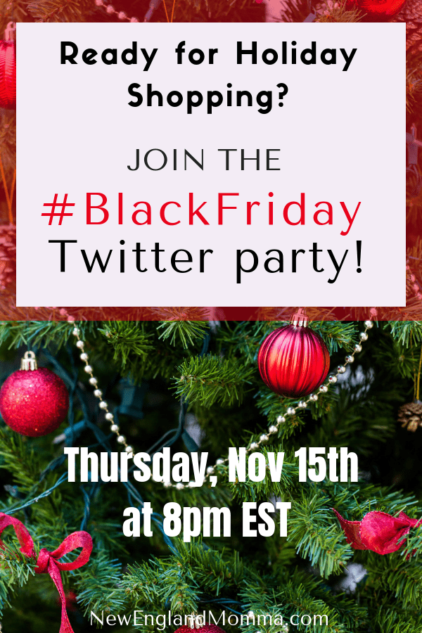 RSVP Now for the #BlackFriday Twitter Party happening Thursday, November 15th 8pm EST