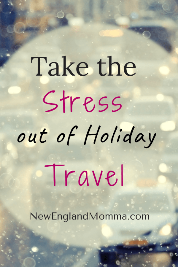 Traveling during the holidays can seem like a lot, but there are ways to take the stress out of holiday travel so you can all enjoy your time away from home.