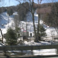 Driving to Keene By Granite Gorge Ski Mountain