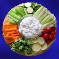 Veggies and Simple Dip