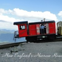 Train At the Top of Mount Washington