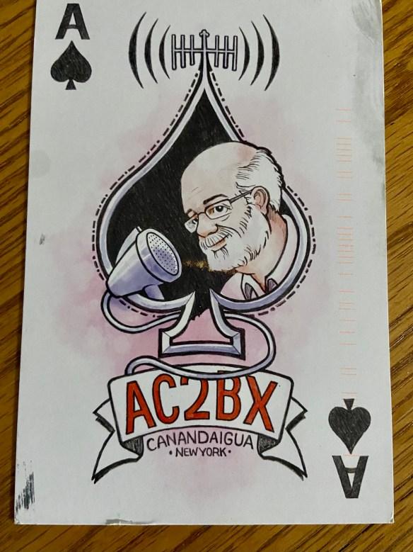 AC2BX QSL Card