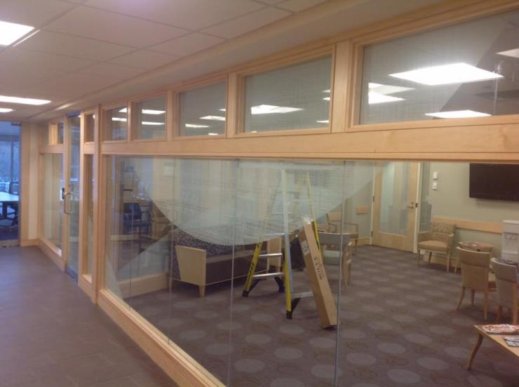 Hospital Uses Decorative Window Film to Compliment Decor 4