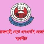 Rajshahi Board SSC Result 2021 With Mark sheet