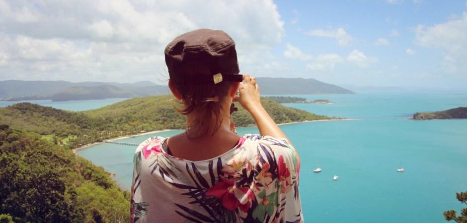 Panorama de South Molle Island dans les Whitsunday, Australie.