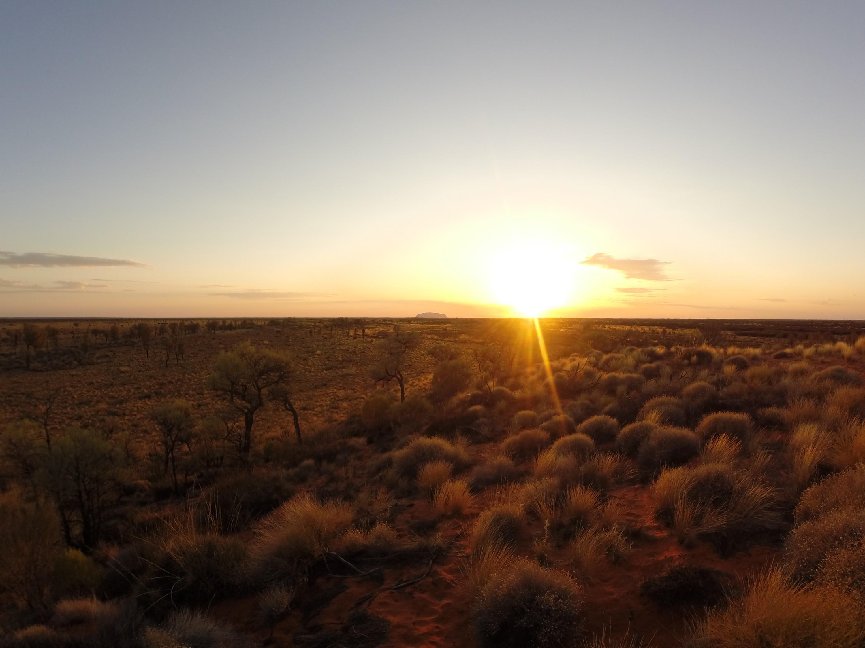 Uluru et le Centre Rouge