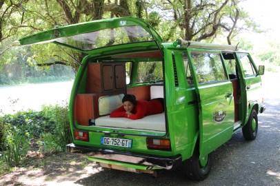 Hulk, notre van sur Belle-Île-en-mer