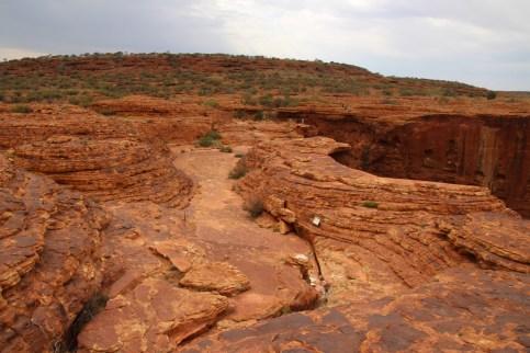 Sur les sentiers de la Rim Walk à Kings Canyon