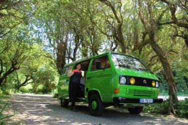 Visiter belle-ile-en-mer avec Hulk, notre van