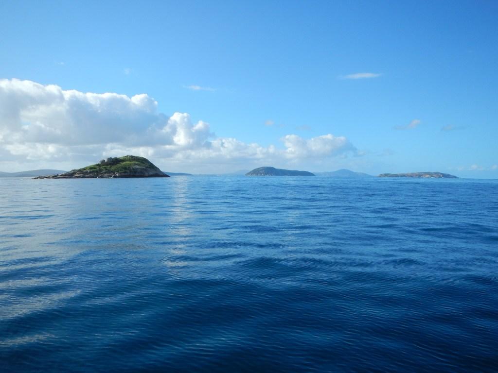 Les eaux turquoises d'Albany