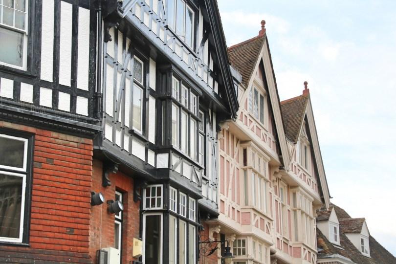 Le centre de Canterbury
