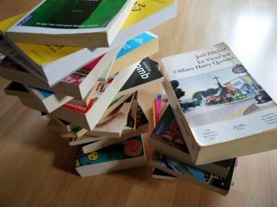 tous ces livres pour voyager léger ???