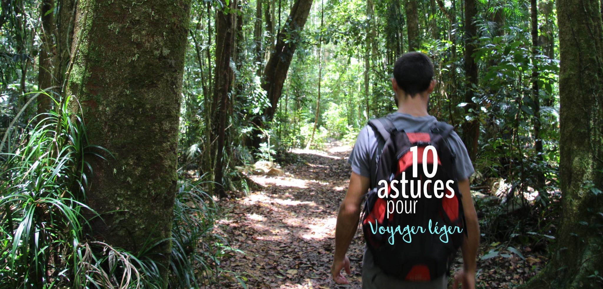 Nos 10 astuces pour voyager léger