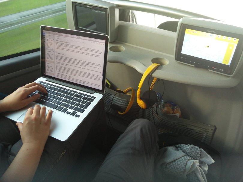 bus regiojet à l'intérieur