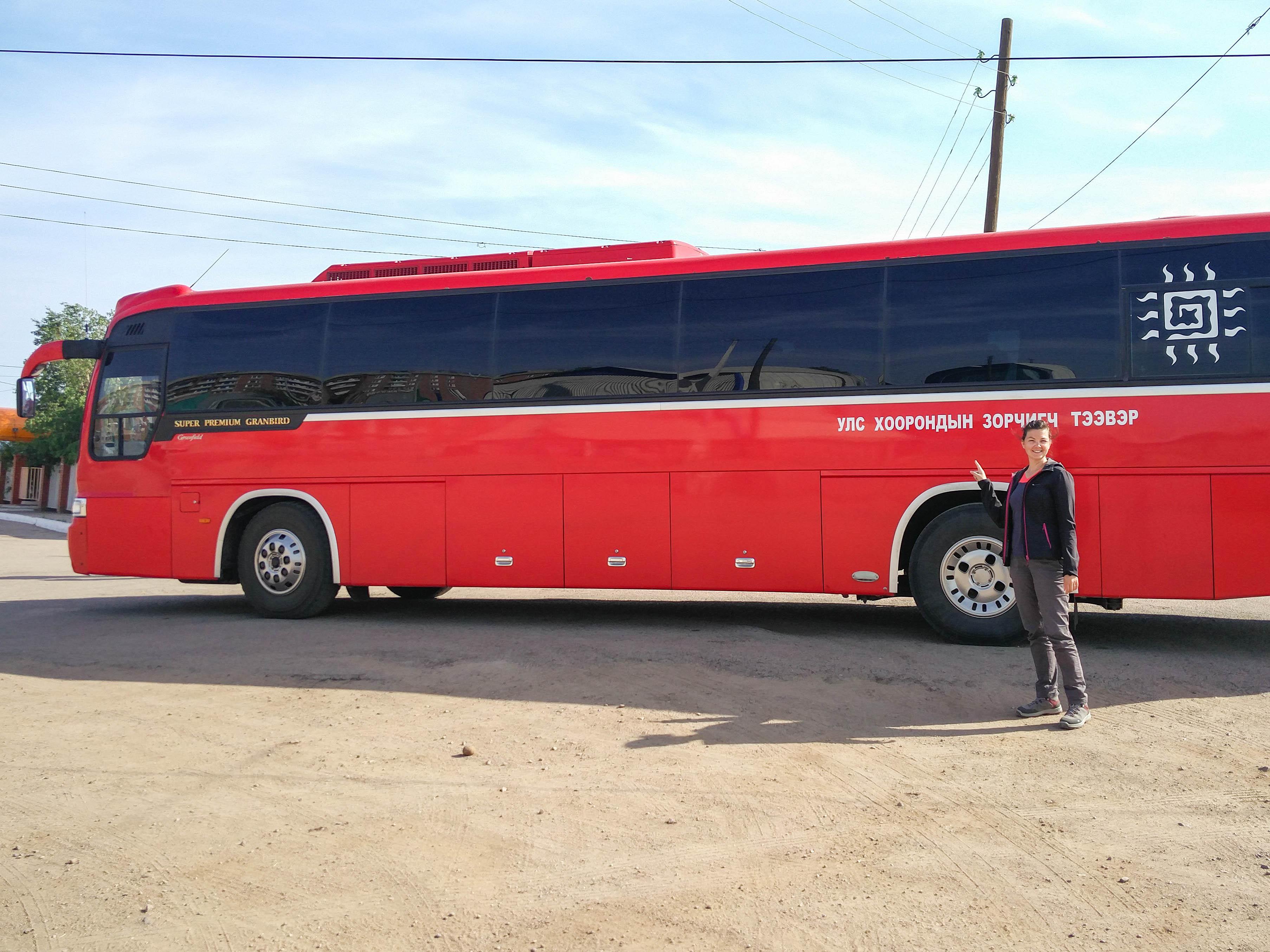 Trajet Russie – Mongolie en bus
