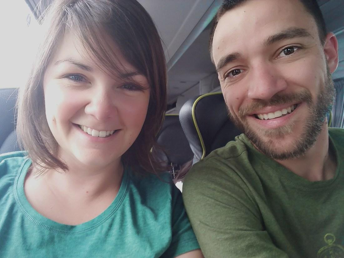 Départ en Tour du monde Lucie & Tom