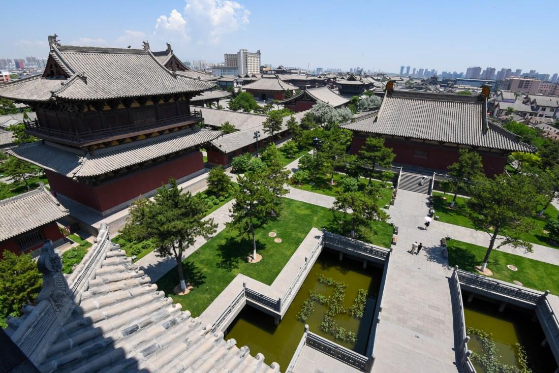 vue monastere de datong @neweyes