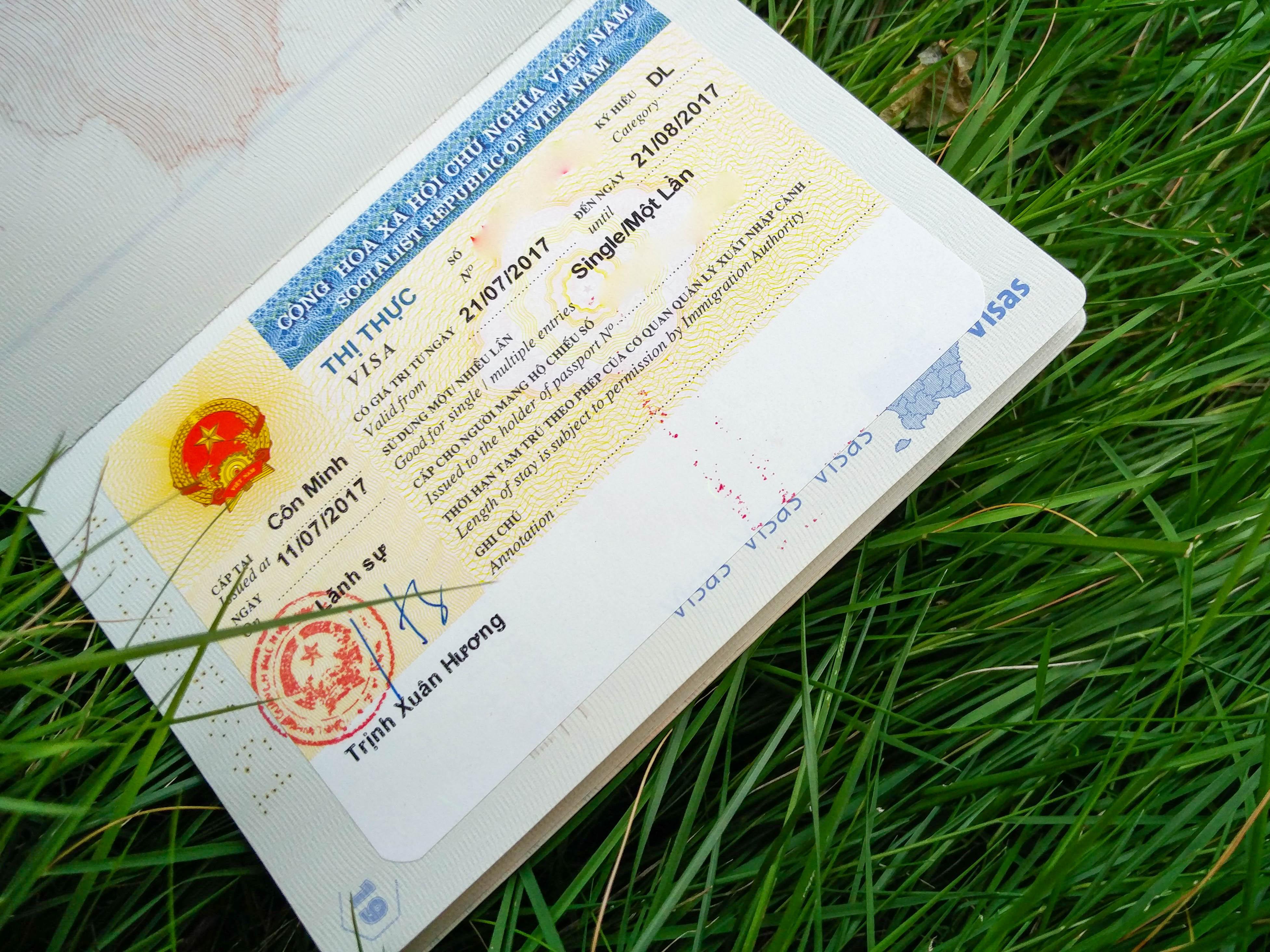 Faire son visa VIETNAM depuis Kunming, en CHINE