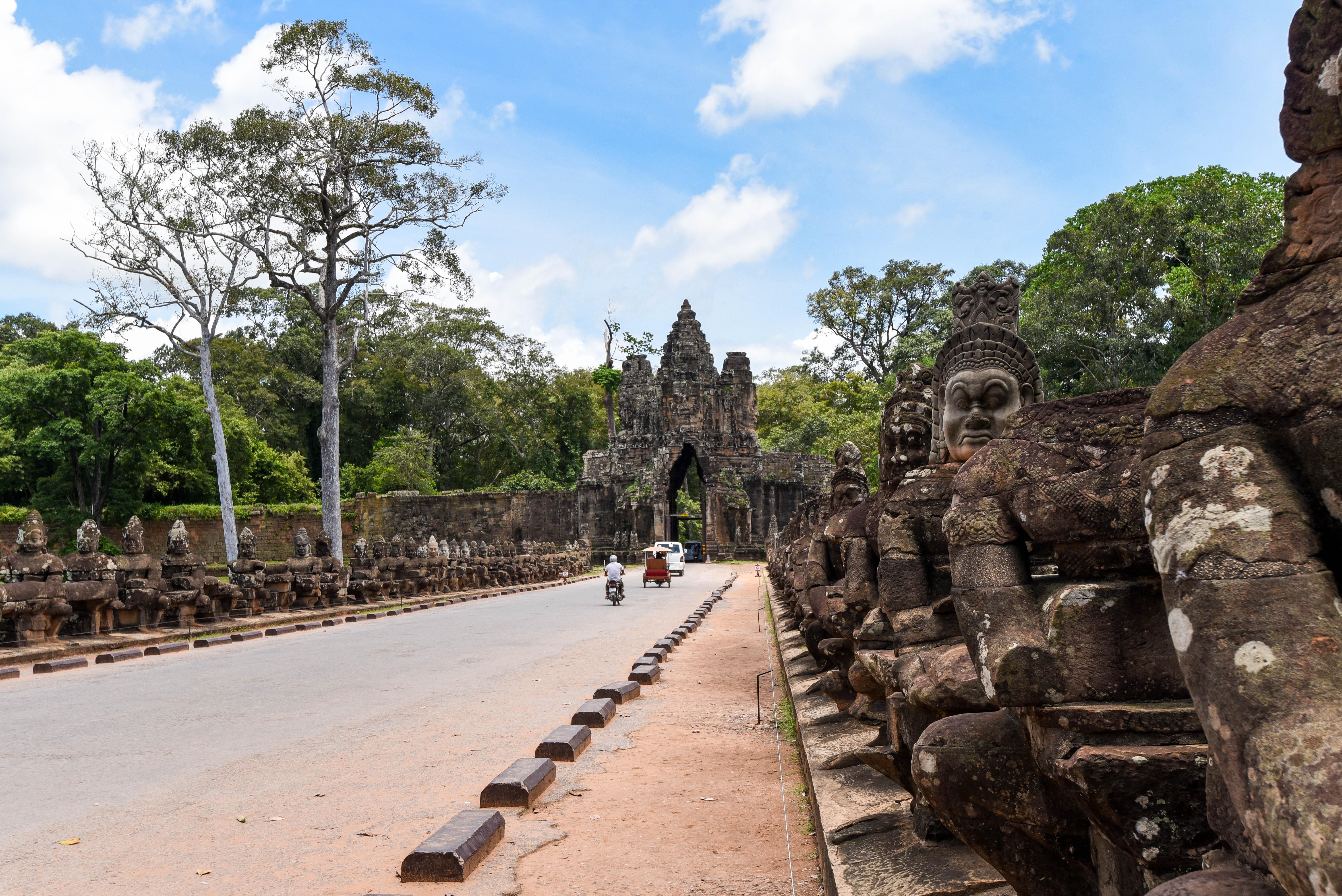 Se rendre aux temples d'Angkor depuis Phnom Penh