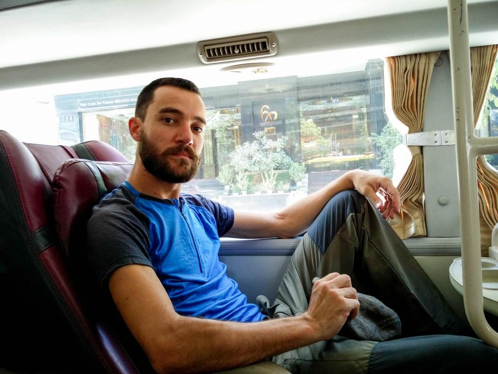 prendre le bus au Vietnam