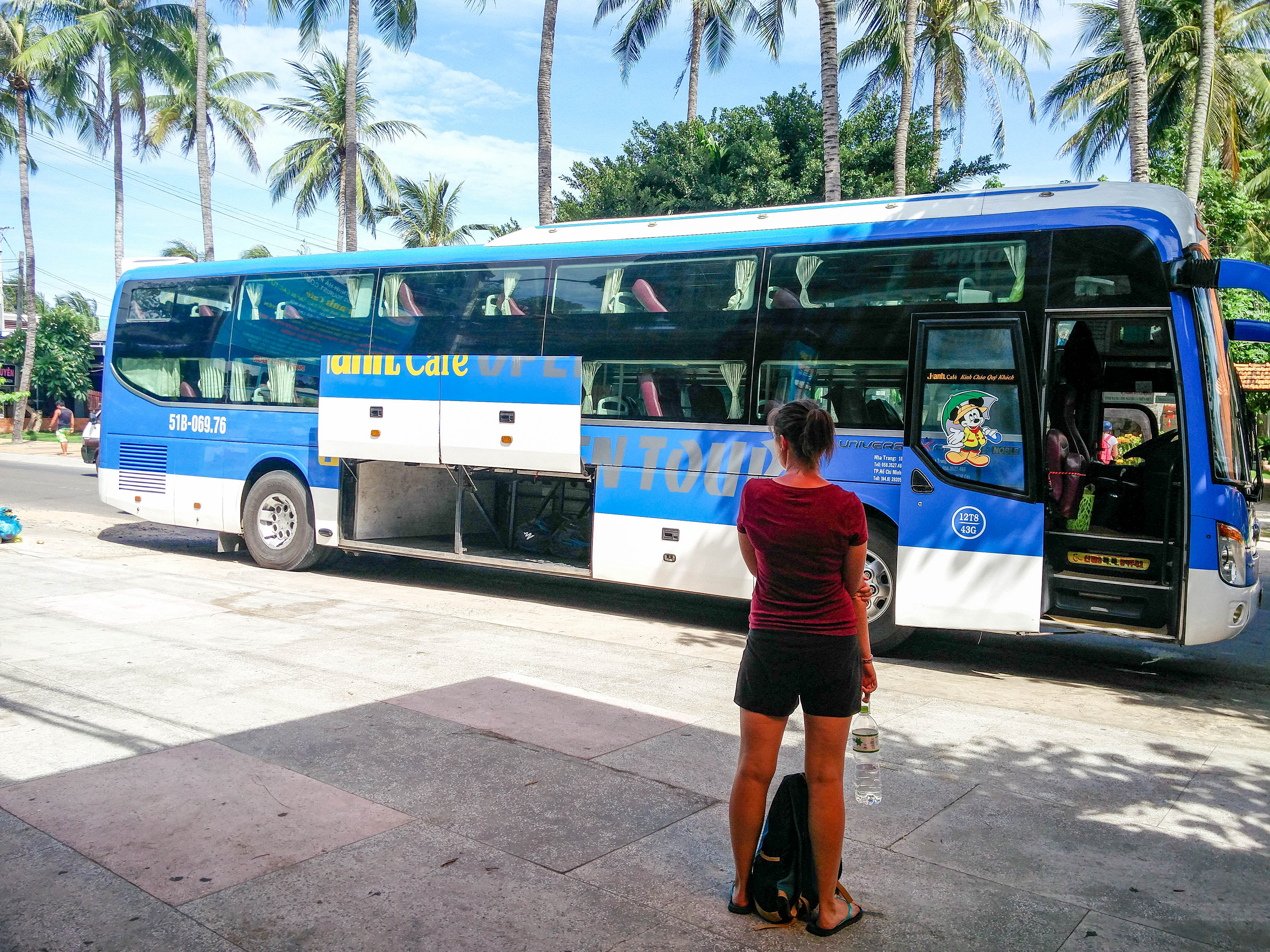 Bus - couchette au Vietnam
