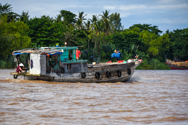 Passer la frontière Vietnam-Cambodge par le Mékong