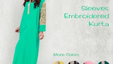 Grapes The Brand New Kurta Dresses Collection 2014