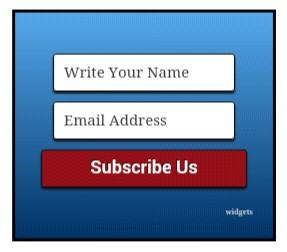 Email subscribe newfeatireblog