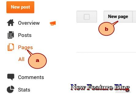 newfeaturebog.com privacy setting