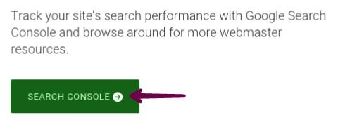 click on search console