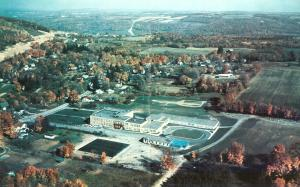 Aerial view of Newfield, c. 1959