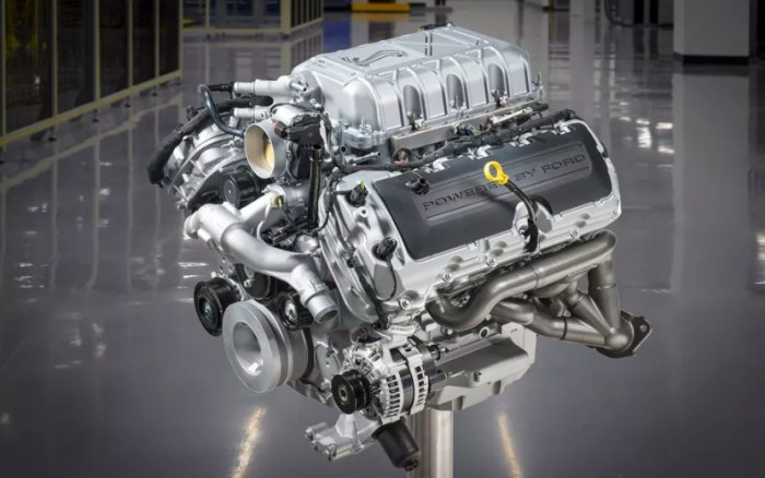 2022 Ford Mustang Shelby GT350 Engine