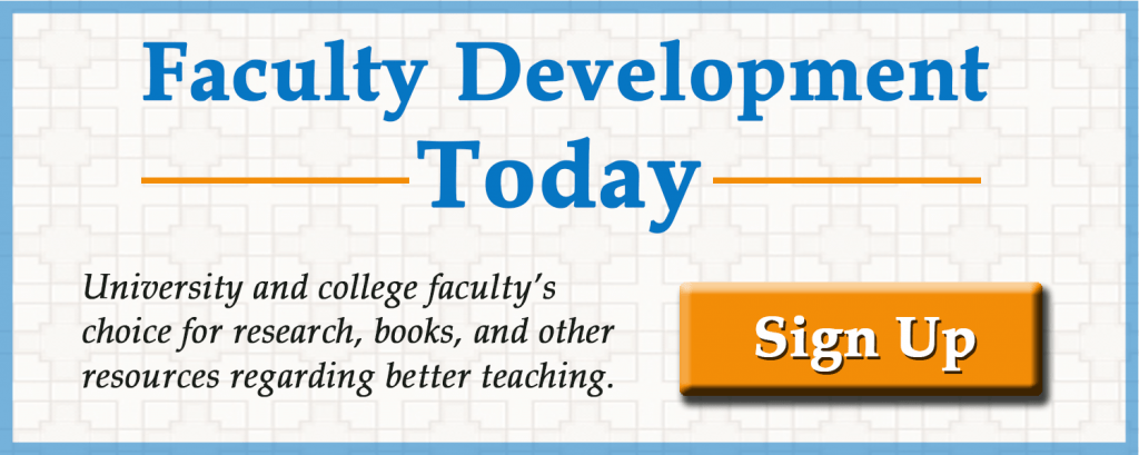 Faculty and staff development newsletter