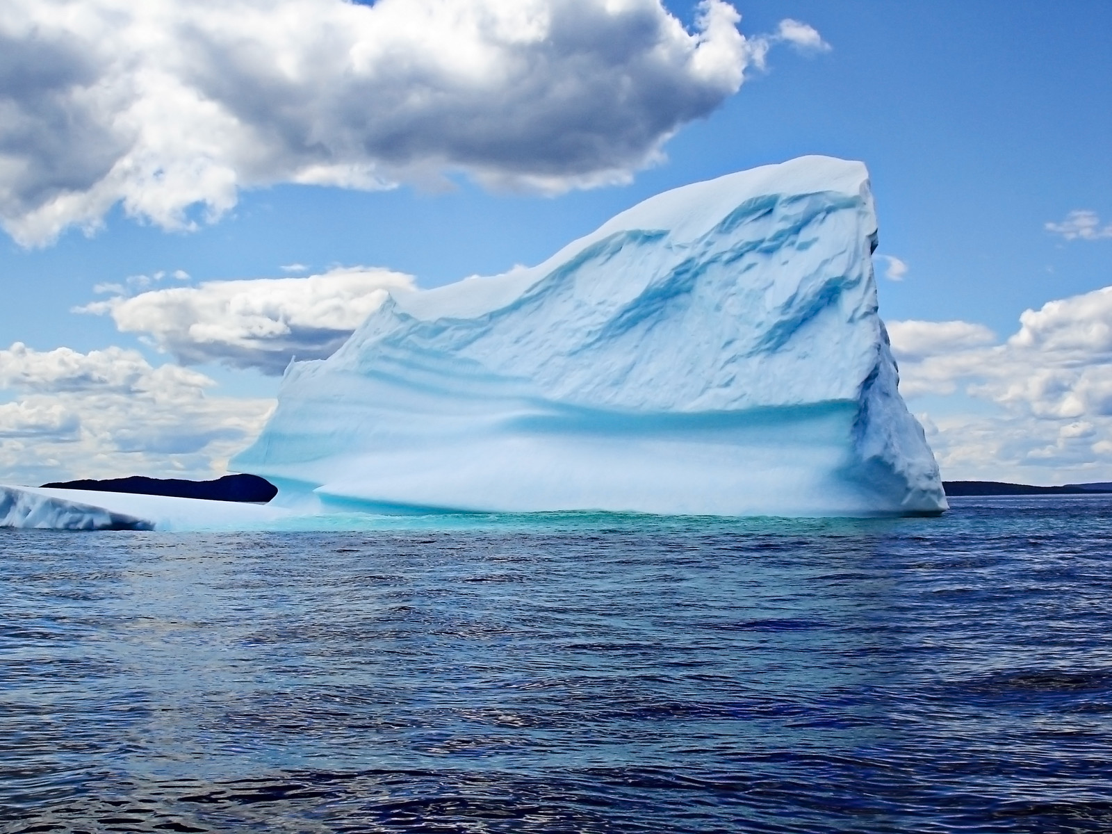 A beautiful Newfoundland Iceberg