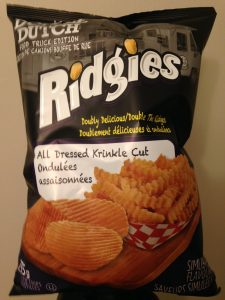 Double Dutch Ridgies All Dressed chips