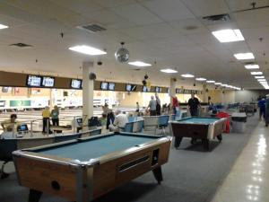 Pool in St. John's at Plaza Bowl and Bev's Sports Bar