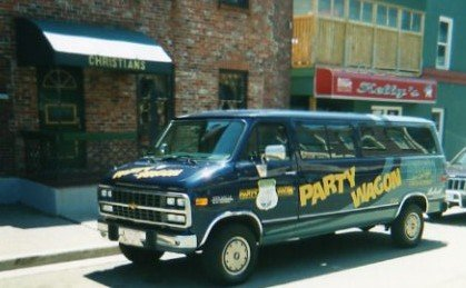 The Party Wagon may have come from the 80s but you could see it on George Street in 90s Newfoundland.