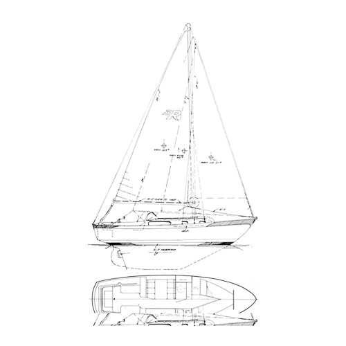 Illustration of a Rawson 38