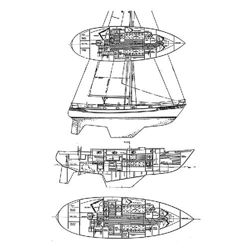 Illustration of a Valiant 40