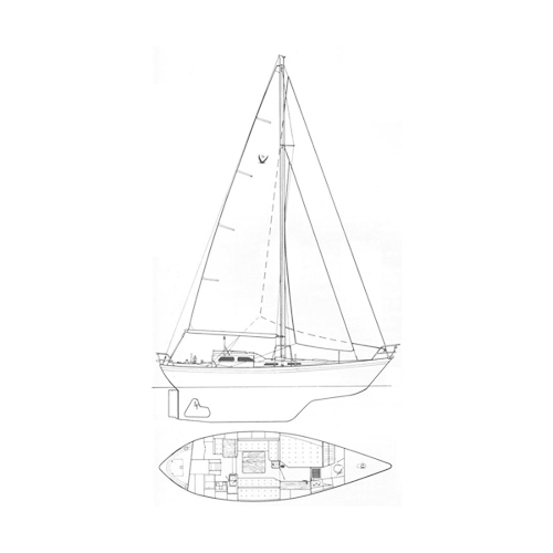 Illustration of a Vancouver Harris 36