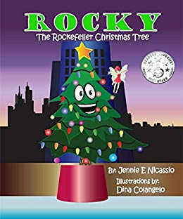 Rocky the Rockefeller Christmas Tree by Jennie Nicassio