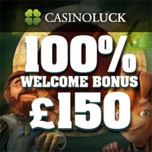 Casino Luck: 50 Free Spins + 50 £/€/$ Welcome Bonus - New ...